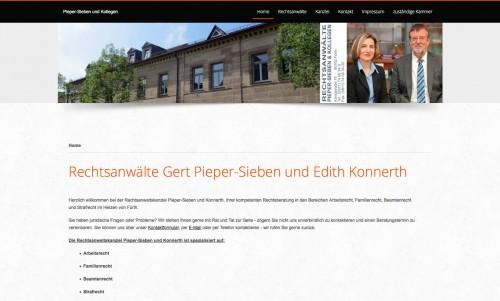 Firmenprofil von: Arbeitsrecht in Fürth: Rechtsanwaltskanzlei Pieper-Sieben und Kollegen