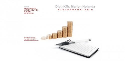 Firmenprofil von: Steuerberaterin Dipl.-Kffr. Marion Holanda in Neunkirchen