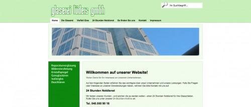 Firmenprofil von: Glaserei in Hamburg: Glaserei Lüders GmbH