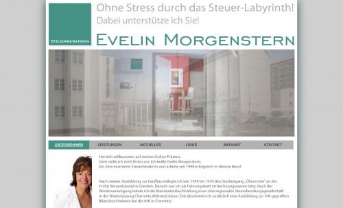 Firmenprofil von: Steuerberaterin in Chemnitz: Steuerberaterin Evelin Morgenstern