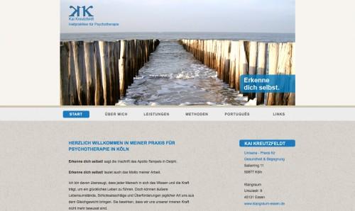 Firmenprofil von: Heilpraktiker in Köln – Heilpraktiker für Psychotherapie Kai Kreutzfeldt
