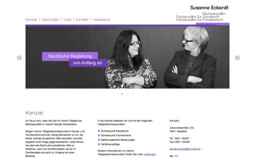 Firmenprofil von: Erstklassige Beratungen zum Elternunterhalt in Bielefeld – Rechtsanwältin Susanne Eckardt