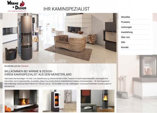Firmenprofil von: Kamine in Münster: Wärme und Design Kamin- und Kachelofenbau GmbH