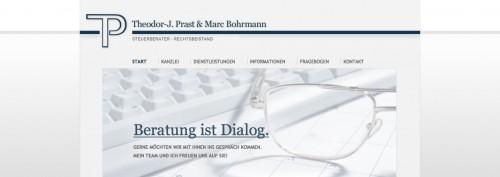 Firmenprofil von: Steuerberatung in Wesel: Theodor-J. Prast & Marc Bohrmann