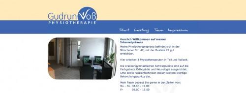 Firmenprofil von: Atemtherapie in Bremen: Praxis für Physiotherapie Gudrun Voß