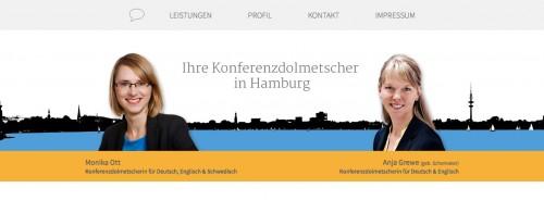 Firmenprofil von: Konferenzdolmetscher  in Hamburg und Ulm