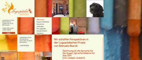 Firmenprofil von: Praxis für Logopädie in Rostock: Manuela Blanck