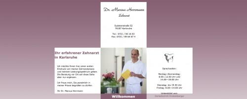 Firmenprofil von: Zahnarzt Dr. Marcus Herrmann in Karlsruhe