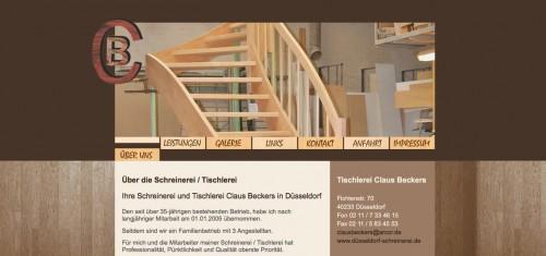 Firmenprofil von: Tischlerei in Düsseldorf: Claus Beckers