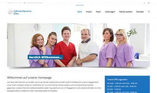 Firmenprofil von: Zahnarztpraxis Renato Illes in Augsburg – Professionelle Prophylaxe