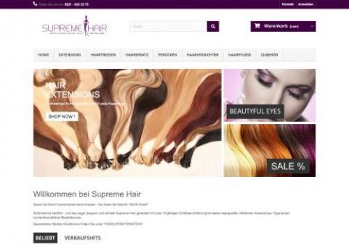 Firmenprofil von: Supreme Hair Haarverlängerungen, Haarersatz-und Fülle…