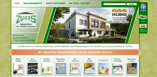 Firmenprofil von: Energieberatung in Neubrandenburg: ZUGIS Grundstücks- und Immobilienservice