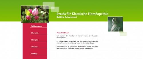 Firmenprofil von: Heilpraktikerin Bettina Schwickert in Wermelskirchen