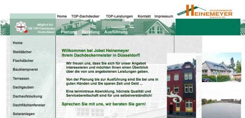 Firmenprofil von: Dachdeckermeister Heinemeyer GmbH und Co. KG