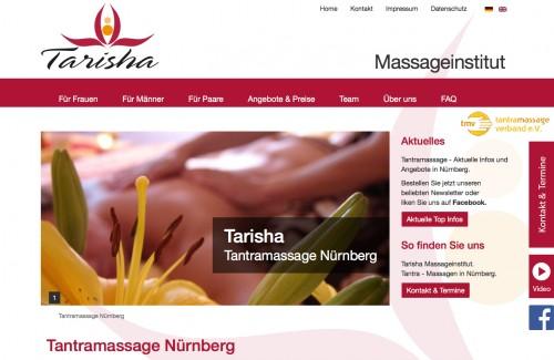 Firmenprofil von: Tantramassagen im Massageinstitut Tarisha in Nürnberg