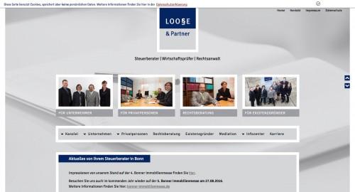 Firmenprofil von: Steuer- und Rechtsberatung aus einer Hand: Steuerberater Loose in Bonn