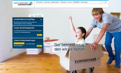 Firmenprofil von: Bartels & Busch GmbH Euromovers, Internationale Möbelspedition in Erfurt