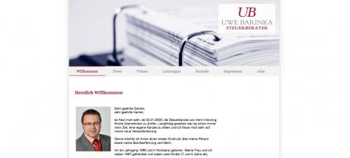 Firmenprofil von: Steuerberater in Stockach: Uwe Barinka