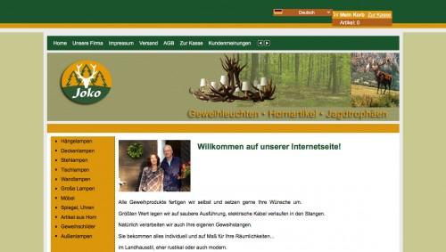 Firmenprofil von: Dekorative Geweihlampen aus dem Bayerischen Wald: Joko Geweihleuchten in Furth im Wald