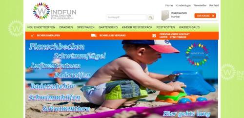 Firmenprofil von: Spiel und Spaß für die ganze Familie: Windfun Spielwaren Online-Shop