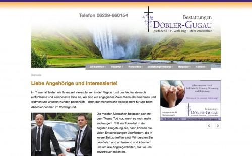 Firmenprofil von: Feinfühlige Unterstützung in Neckarsteinach: Bestattungen Döbler-Gugau