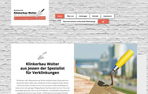Firmenprofil von: Meisterarbeiten rund um Klinker: Klinkerbau Wolter in Jessen bei Wittenberg