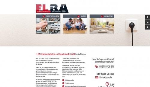 Firmenprofil von: ELBA Elektroinstallation und Bauelemente GmbH in Großräschen