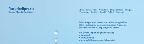 Firmenprofil von: Naturheilkunde in Limburg: Naturheilpraxis Barbara Minz