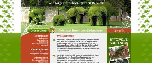Firmenprofil von: Baumpflege in Erfurt: Grüner Dienst Oliver Carl