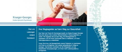 Firmenprofil von: Physiotherapie in Neuss: Krankengymnastik Beate Krueger-Georges