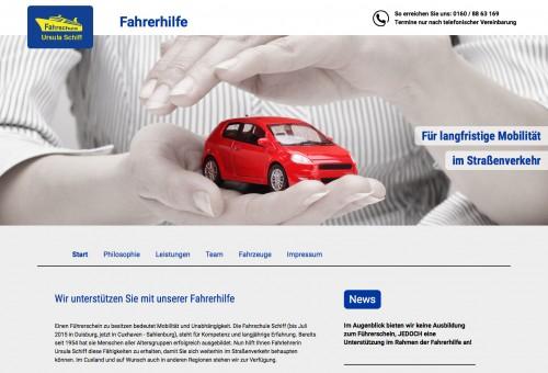 Firmenprofil von: Fahrerhilfe in Cuxhaven: Ursula Schiff