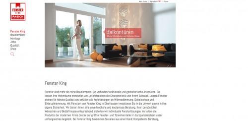 Firmenprofil von: Hochwertige Bauelemente in Oberhausen: Qualitätsprodukte von Fenster King Pasich und Pasich GbR