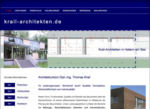 Firmenprofil von: Architekturbüro Krail in Haltern: Diplom-Ingenieur Thomas Krail