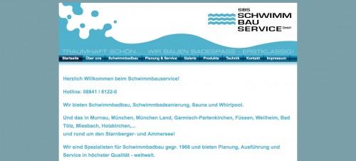 Firmenprofil von: Die SBS Schwimm-Bau-Service-GmbH: Badespaß aus einer Hand
