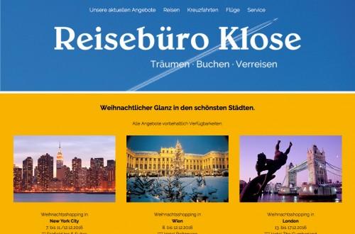 Firmenprofil von: Reisebüro Klose in Kiel: Umfassende Beratung bei Reisen aller Art