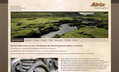 Firmenprofil von: Feinfühliger Bestatter: Bestattungshaus Märtin KG in Schwerte