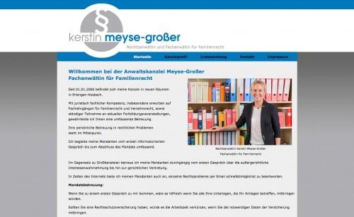 Firmenprofil von: Fachanwältin für Familienrecht in Erlangen: Rechtsanwältin Kerstin Meyse-Großer