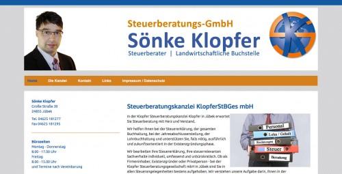 Firmenprofil von: Steuerberater in Jübek: Steuerberatungs-GmbH Sönke Klopfer