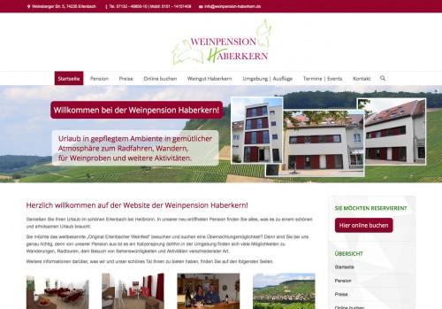 Firmenprofil von: Weinpension Haberkern in Erlenbach