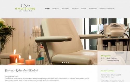Firmenprofil von: Kosmetikstudio in Brackenheim: Emotions - Salon der Schönheit