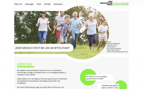 Firmenprofil von: Ergotherapie in Essen: Ergotherapeutische Praxis Christa Middendorf