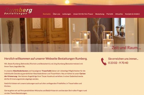 Firmenprofil von: Kompetenter Bestatter in Witten: Bestattungen Rumberg
