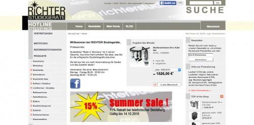 Firmenprofil von: Richter Studiogeräte GmbH in Salem-Neufrach