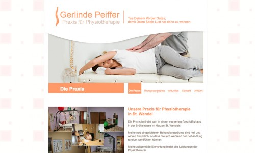 Firmenprofil von: Physiotherapie in St. Wendel