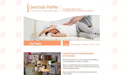 Firmenprofil von: Physiotherapie in St. Wendel
