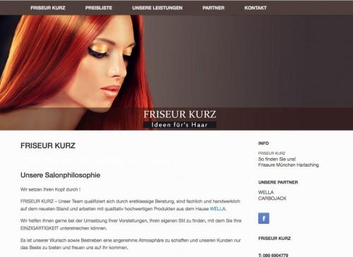 Firmenprofil von: Friseur Kurz in München: Neue Ideen für das Haar