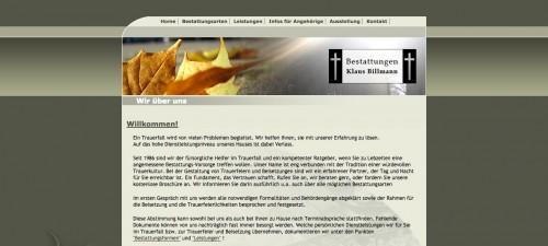 Firmenprofil von: Billmann Bestattungen in Schwaigern: Unterstützung in schwierigen Zeiten