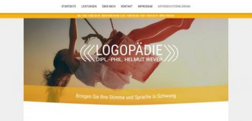 Firmenprofil von: Dipl. Phil. Helmut Wever-Logopäde in Erfurt