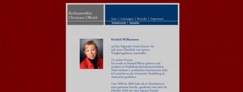 Firmenprofil von: Verkehrsrecht in Mannheim: Rechtsanwältin Christiane Olbrich