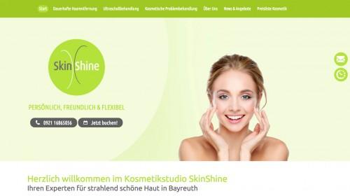 Firmenprofil von: Dauerhafte Haarentfernung in Bayreuth: Kosmetikstudio SkinShine